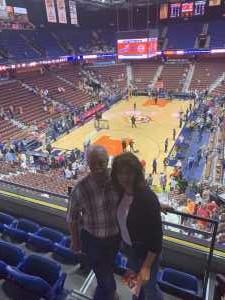 Joseph attended Connecticut Sun vs. Seattle Storm - WNBA - Basketball on Jun 16th 2019 via VetTix