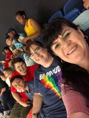 Patricia attended Connecticut Sun vs. Seattle Storm - WNBA - Basketball on Jun 16th 2019 via VetTix