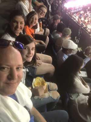 Stephen attended Connecticut Sun vs. Seattle Storm - WNBA - Basketball on Jun 16th 2019 via VetTix
