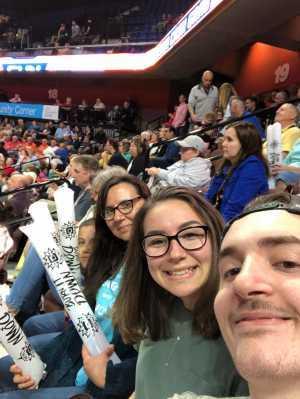 Jo attended Connecticut Sun vs. Atlanta Dream - WNBA - Basketball on Jun 21st 2019 via VetTix