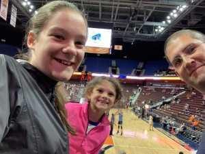david attended Connecticut Sun vs. Atlanta Dream - WNBA - Basketball on Jun 21st 2019 via VetTix
