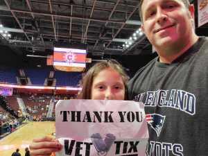 George attended Connecticut Sun vs. Atlanta Dream - WNBA - Basketball on Jun 21st 2019 via VetTix