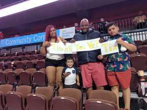 gary attended Connecticut Sun vs. Atlanta Dream - WNBA - Basketball on Jun 21st 2019 via VetTix