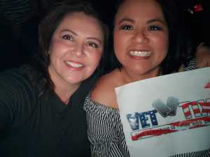 Jean attended Pentatonix: the World Tour With Special Guest Rachel Platten - Pop on May 14th 2019 via VetTix