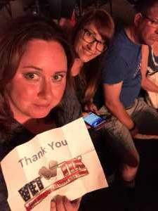 Kerry attended Pentatonix: the World Tour With Special Guest Rachel Platten - Pop on May 14th 2019 via VetTix
