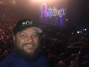 Mike attended Pentatonix: the World Tour With Special Guest Rachel Platten - Pop on May 14th 2019 via VetTix