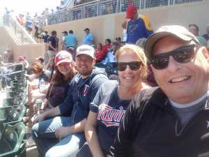 Dave attended Minnesota Twins vs. Seattle Mariners - MLB Etix 06/13/2019 on Jun 13th 2019 via VetTix