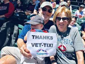 Larry attended Minnesota Twins vs. Seattle Mariners - MLB Etix 06/13/2019 on Jun 13th 2019 via VetTix