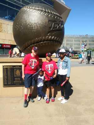 Dorminga attended Minnesota Twins vs. Seattle Mariners - MLB Etix 06/13/2019 on Jun 13th 2019 via VetTix