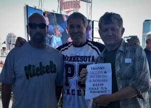 Wayne attended Minnesota Twins vs. Seattle Mariners - MLB Etix 06/13/2019 on Jun 13th 2019 via VetTix