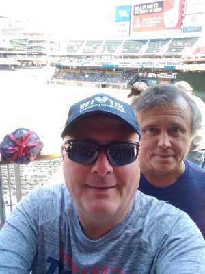 Jerome attended Minnesota Twins vs. Seattle Mariners - MLB Etix 06/13/2019 on Jun 13th 2019 via VetTix