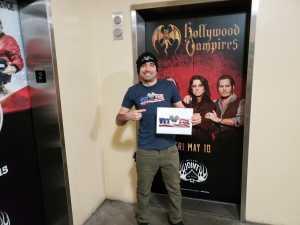 Win attended Hollywood Vampires - Pop on May 10th 2019 via VetTix