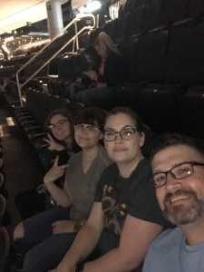Ryan attended Pentatonix: the World Tour With Special Guest Rachel Platten - Pop on Jun 18th 2019 via VetTix