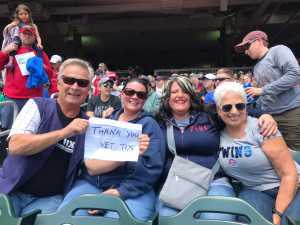 Alan attended Minnesota Twins vs. Kansas City Royals - MLB on Jun 16th 2019 via VetTix