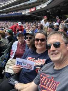 Aaron attended Minnesota Twins vs. Kansas City Royals - MLB on Jun 16th 2019 via VetTix