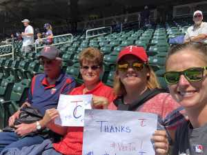 KRYSTAL attended Minnesota Twins vs. Kansas City Royals - MLB on Jun 16th 2019 via VetTix