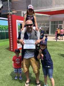 JOSEPH attended Minnesota Twins vs. Kansas City Royals - MLB on Jun 16th 2019 via VetTix