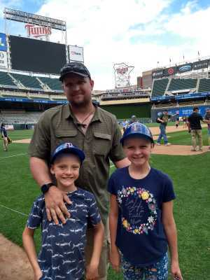 Rebekah attended Minnesota Twins vs. Kansas City Royals - MLB on Jun 16th 2019 via VetTix