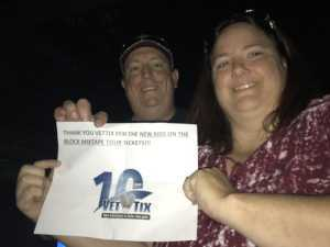 Kevin attended New Kids On The Block: The Mixtape Tour on May 13th 2019 via VetTix