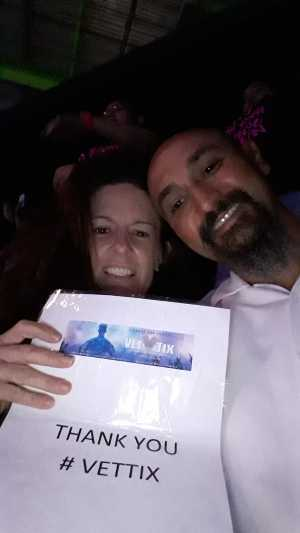 Augustine attended New Kids On The Block: The Mixtape Tour on May 13th 2019 via VetTix