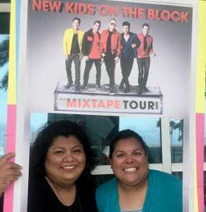 Diana attended New Kids On The Block: The Mixtape Tour on May 13th 2019 via VetTix