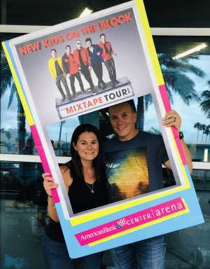 Leo attended New Kids On The Block: The Mixtape Tour on May 13th 2019 via VetTix