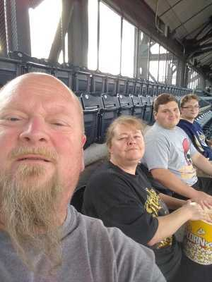 Joseph attended Pittsburgh Pirates vs. Milwaukee Brewers - MLB on May 30th 2019 via VetTix
