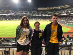 Steve attended Pittsburgh Pirates vs. Milwaukee Brewers - MLB on May 30th 2019 via VetTix