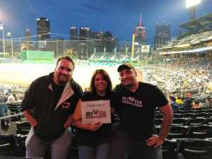 Robert attended Pittsburgh Pirates vs. Milwaukee Brewers - MLB on May 30th 2019 via VetTix