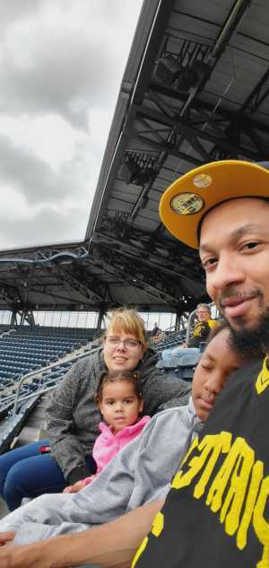 MARCUS attended Pittsburgh Pirates vs. Milwaukee Brewers - MLB on May 30th 2019 via VetTix