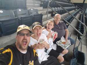 Chris attended Pittsburgh Pirates vs. Milwaukee Brewers - MLB on May 30th 2019 via VetTix