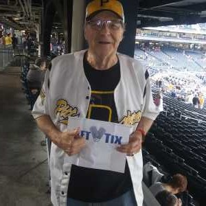 edward attended Pittsburgh Pirates vs. Milwaukee Brewers - MLB on May 30th 2019 via VetTix
