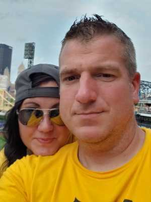 David attended Pittsburgh Pirates vs. Milwaukee Brewers - MLB on May 30th 2019 via VetTix