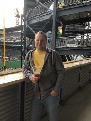 Bill attended Pittsburgh Pirates vs. Milwaukee Brewers - MLB on May 30th 2019 via VetTix