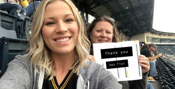 Stephanie attended Pittsburgh Pirates vs. Milwaukee Brewers - MLB on May 30th 2019 via VetTix
