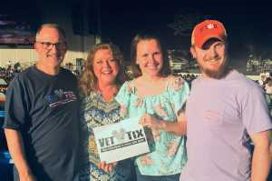 Scott attended Chris Young: Raised on Country Tour - Country on May 17th 2019 via VetTix