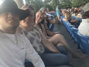 Govan attended Chris Young: Raised on Country Tour - Country on May 17th 2019 via VetTix