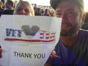 ROBERT attended Chris Young: Raised on Country Tour - Country on May 17th 2019 via VetTix