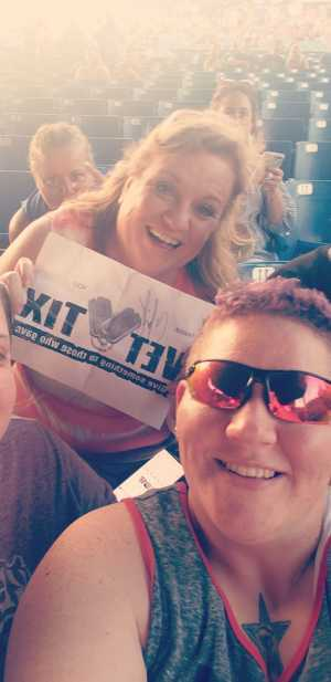 Ashley attended Chris Young: Raised on Country Tour - Country on May 17th 2019 via VetTix