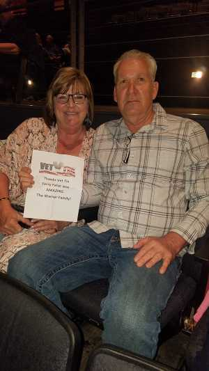 Richard attended Terry Fator- the Voice of Entertainment - It Starts Tonight on May 18th 2019 via VetTix