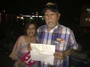 Pete attended Brad Paisley Tour 2019 - Country on May 31st 2019 via VetTix