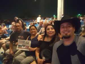 Wilmer attended Brad Paisley Tour 2019 - Country on May 31st 2019 via VetTix