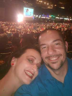 Brad attended Brad Paisley Tour 2019 - Country on May 31st 2019 via VetTix