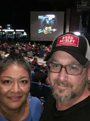 Micheal attended Brad Paisley Tour 2019 - Country on May 31st 2019 via VetTix