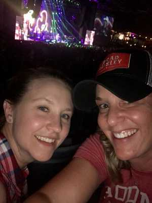Mary attended Brad Paisley Tour 2019 - Country on May 31st 2019 via VetTix