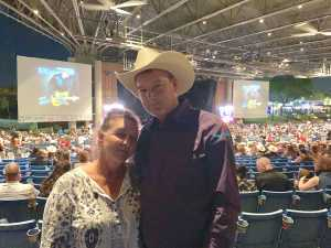 Morris attended Brad Paisley Tour 2019 - Country on May 31st 2019 via VetTix