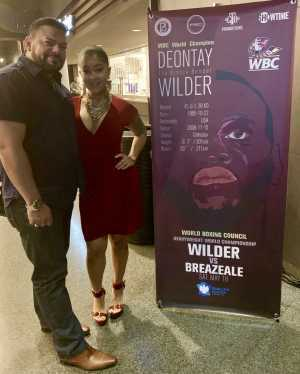 Charles attended Premier Boxing Champions: Deontay Wilder vs. Dominic Breazeale - Boxing on May 18th 2019 via VetTix