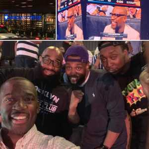 Douglas attended Premier Boxing Champions: Deontay Wilder vs. Dominic Breazeale - Boxing on May 18th 2019 via VetTix