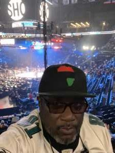 Rudolph attended Premier Boxing Champions: Deontay Wilder vs. Dominic Breazeale - Boxing on May 18th 2019 via VetTix