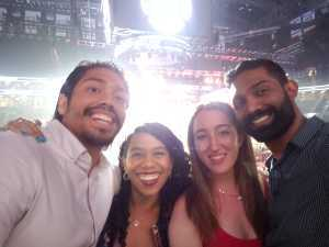 Aaron attended Premier Boxing Champions: Deontay Wilder vs. Dominic Breazeale - Boxing on May 18th 2019 via VetTix